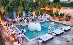 Bat Mitzvah at the Hyatt Bonaventure Resort and Spa in Weston, Florida