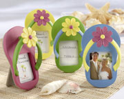 Sandal Beach wedding favor