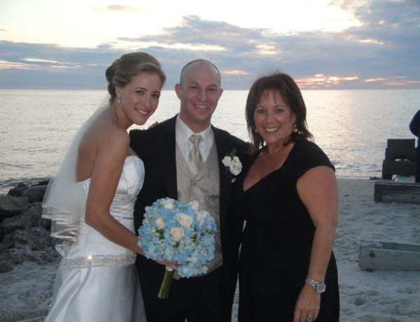 Cantor Debbi Ballard with Brett and Andrea