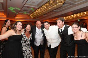 celebrations after their Jewish Interfaith wedding ceremony