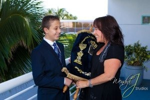 Cantor Debbi with private Bar Mitzvah Student in Florida, Bar Mitzvah Bat Mitzvah ceremonies in South Florida and Israel
