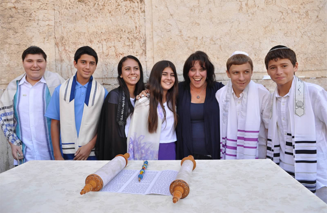 Bar Mitzvah in Israel with Cantor Debbi Ballard