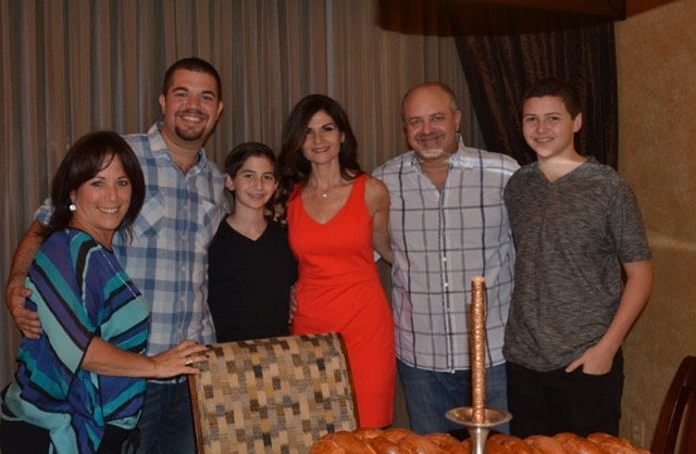 Friday night Shabbat before Ben's Bar Mitzvah